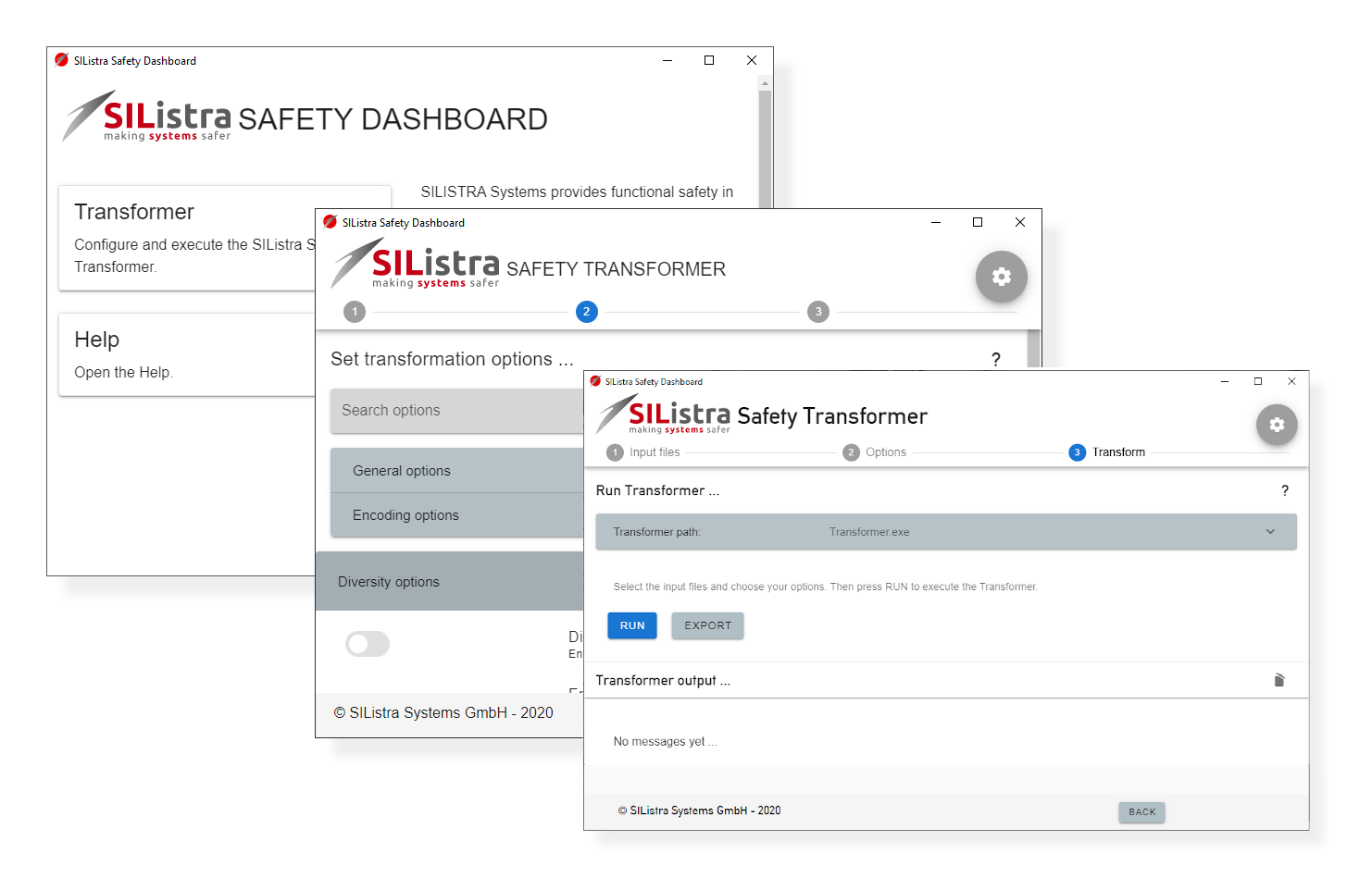 SIListra Safety Dashboard